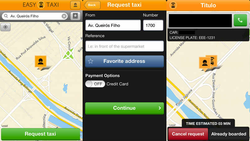 Apps para taxis