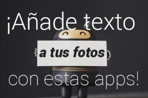 app anadir texto fotografia
