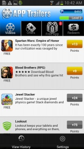 apptrailer2 App para ganar dinero Android