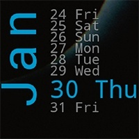 calendar App para Xperia