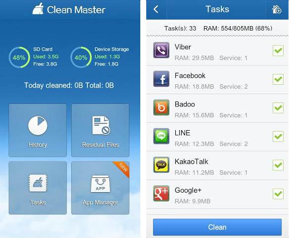 Apps para Note 3