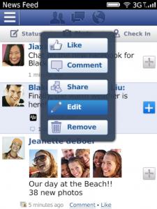 fbblackberry App para Blackberry 9320