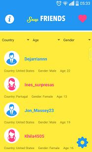 freeusernames2 App para Snapchat
