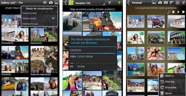 gallery app para organizar fotos