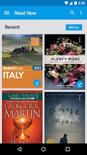 googleplaybooks2 App para leer libros Android