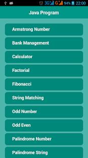 javaprogram2 App para Java