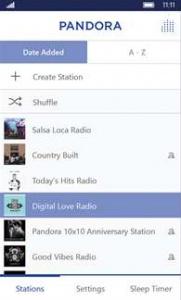pandora2 App para Nokia
