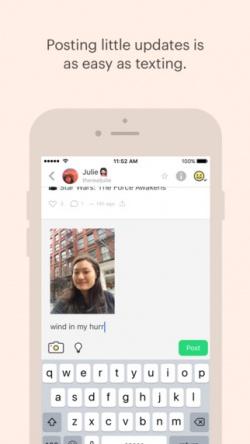 peach2 App para iPhone: Peach