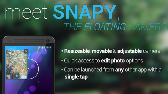 snapy2 app para tomar fotos