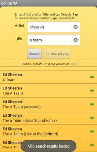 songdna2 App para reconocer música