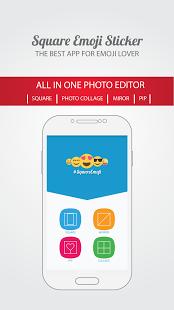 squareemji2 App para poner emojis en las fotos
