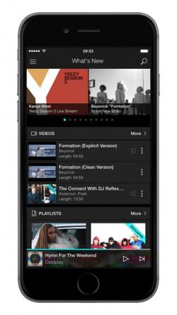 tidal2 App para descargar música gratis iPhone