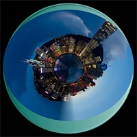 tinyplanet App para fotos Android
