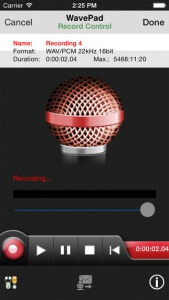 wavepad2 App para editar musica