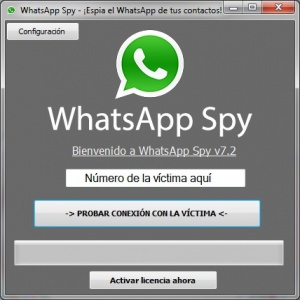 whatsappspypantalla App para hackear Whatsapp