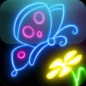 glowdraw app para pintar y colorear