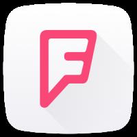 foursquare Las mejores redes sociales Android