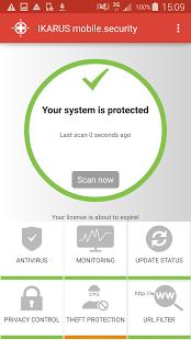 ikarus2 Los mejores antivirus Android