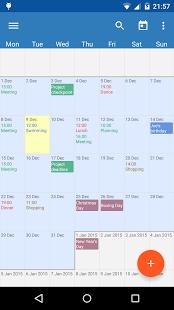 touchcalendar2 App de calendarios Android