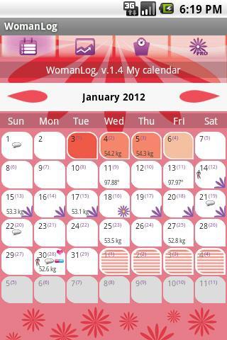 Calendario De Periodo Menstrual.Las 8 Mejores Apps Para Tu Ciclo Menstrual Top Apps Ios