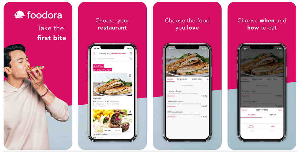 Apps para pedir comida