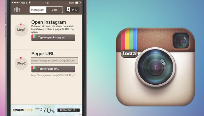 descargar videos de instagram android