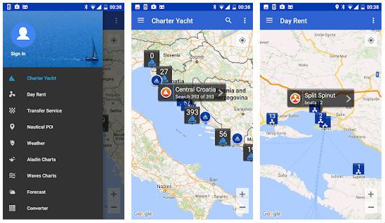 Apps para alquilar botes