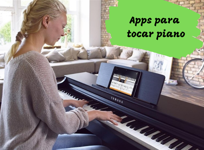 Apps para tocar piano