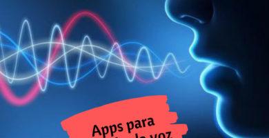 Apps para modular la voz
