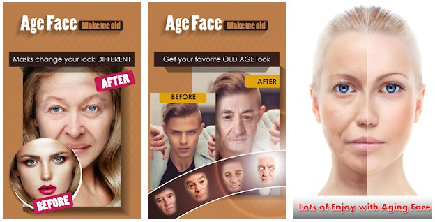 Apps para Envejecer Rostros