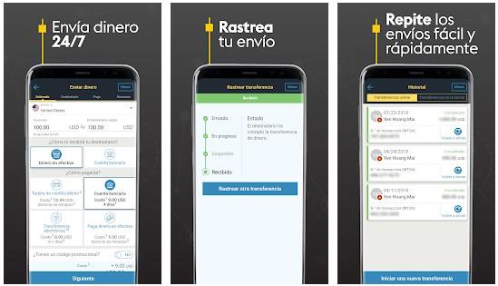 Apps para enviar dinero